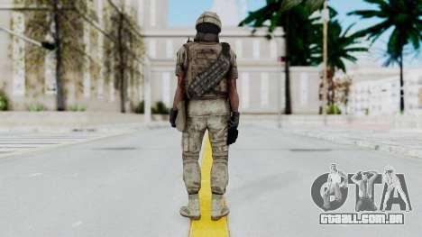 Crysis 2 US Soldier 7 Bodygroup B para GTA San Andreas terceira tela