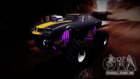 GTA 5 Imponte Phoenix Monster Truck para GTA San Andreas vista inferior