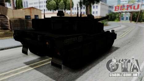 Point Blank Black Panther Woodland para GTA San Andreas esquerda vista