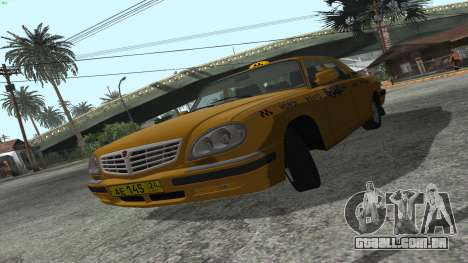 GAZ 31105 Volga Táxi FIV para GTA San Andreas esquerda vista