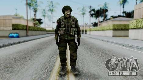 SAJ Maskirna para GTA San Andreas segunda tela