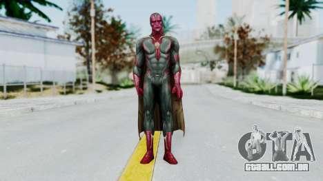 Marvel Future Fight - Vision (AOU) para GTA San Andreas segunda tela