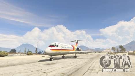 McDonnell Douglas DC-9-15 para GTA 5