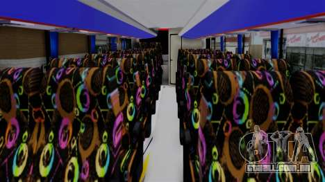 Laksana Legacy Hino AK8 Sugeng Livery para GTA San Andreas vista direita