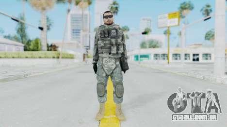 Acu Soldier 6 para GTA San Andreas segunda tela