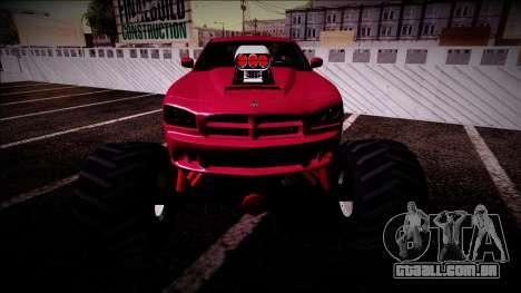 2006 Dodge Charger SRT8 Monster Truck para GTA San Andreas