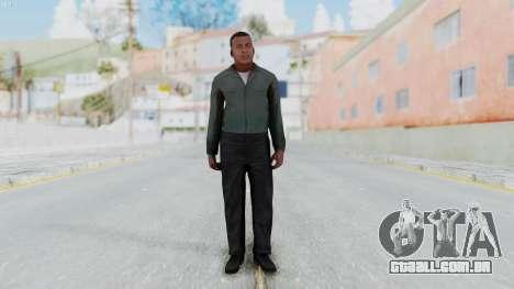 GTA 5 Franklin Clinton para GTA San Andreas segunda tela