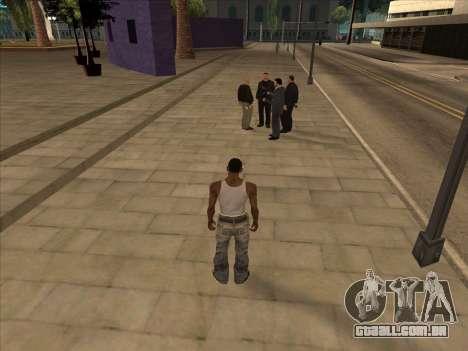 Os russos, no distrito Comercial para GTA San Andreas terceira tela