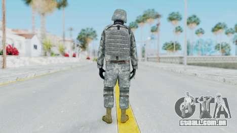 Acu Soldier Balaclava v3 para GTA San Andreas terceira tela