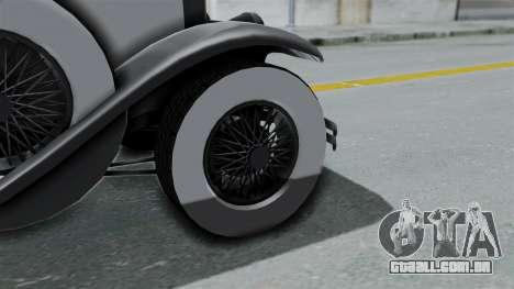 GTA 5 Albany Roosevelt Valor para GTA San Andreas traseira esquerda vista