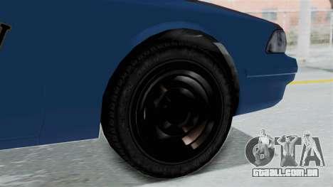 GTA 5 Vapid Stanier II Taxi IVF para GTA San Andreas traseira esquerda vista