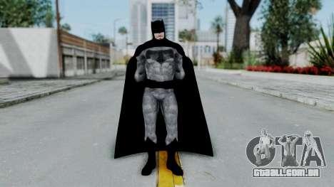 BvS Dawn of Justice - Batman para GTA San Andreas segunda tela