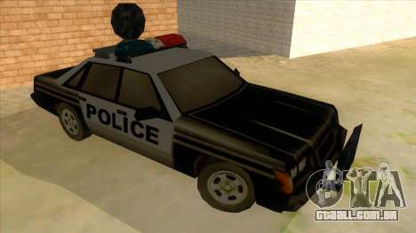 Police Car from Manhunt 2 para GTA San Andreas vista traseira