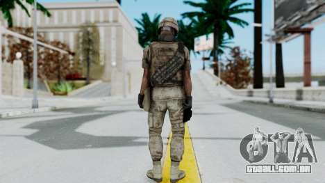 Crysis 2 US Soldier 3 Bodygroup B para GTA San Andreas terceira tela