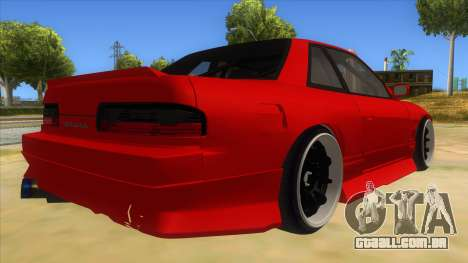 Nissan S13 Drift para GTA San Andreas vista direita