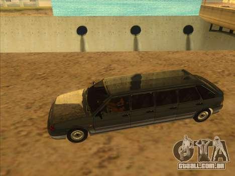 VAZ 2114 9-door para GTA San Andreas vista direita