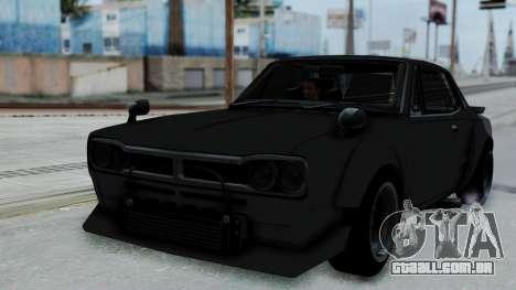 Nissan Skyline 2000GTR Speedhunters Edition para GTA San Andreas