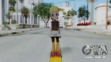 Pokémon XY Série - Bonnie para GTA San Andreas segunda tela