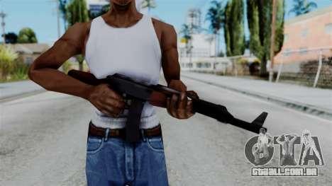 GTA 3 AK-47 para GTA San Andreas terceira tela