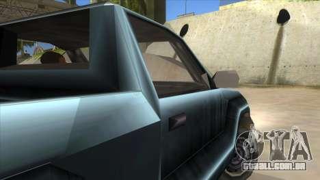 GTA III Bobcat Original Style para GTA San Andreas vista interior