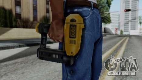 Vice City Beta Nailgun para GTA San Andreas terceira tela