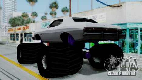 Ford Gran Torino Monster Truck para GTA San Andreas esquerda vista