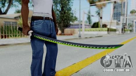 Genji Katana - Overwatch para GTA San Andreas