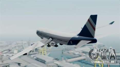 GTA 5 Jumbo Jet v1.0 Air Herler para GTA San Andreas esquerda vista