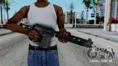 Arma 2 FN-FAL para GTA San Andreas terceira tela