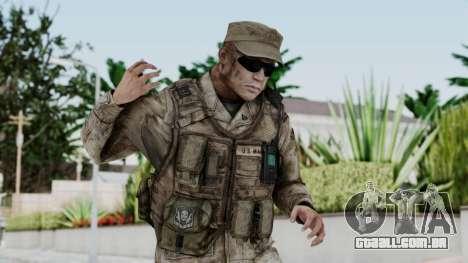 Crysis 2 US Soldier 3 Bodygroup A para GTA San Andreas