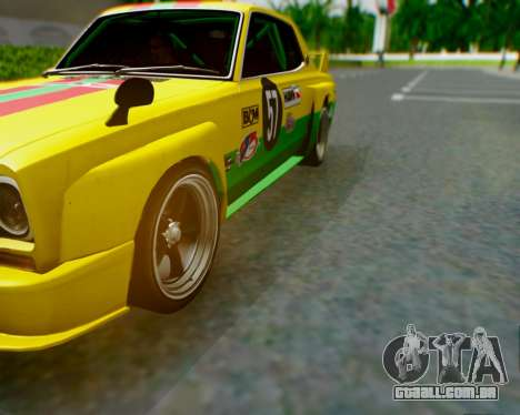 Nissan 2000GT-R [C10] Tunable para GTA San Andreas vista inferior