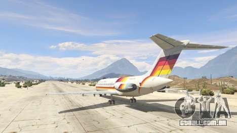 GTA 5 McDonnell Douglas DC-9-15 terceiro screenshot