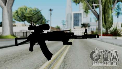 AK-103 OGA para GTA San Andreas