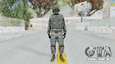 Acu Soldier Balaclava v4 para GTA San Andreas segunda tela