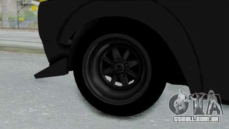 Nissan Skyline 2000GTR Speedhunters Edition para GTA San Andreas traseira esquerda vista