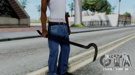 No More Room in Hell - Crowbar para GTA San Andreas