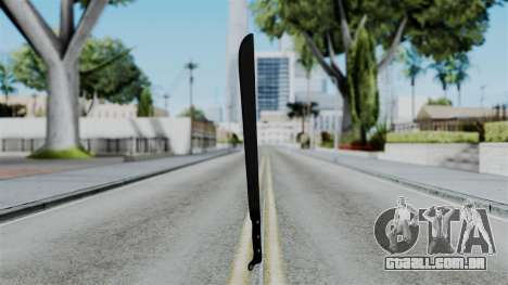 No More Room in Hell - Machete para GTA San Andreas segunda tela