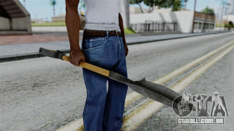 No More Room in Hell - Shovel para GTA San Andreas terceira tela