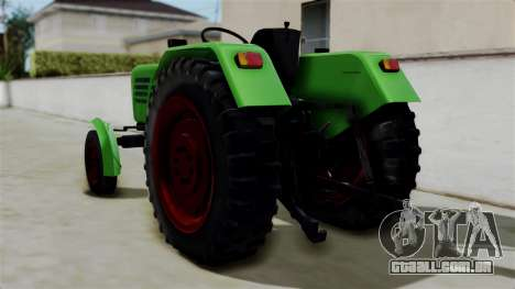 Torpedo Traktor para GTA San Andreas esquerda vista