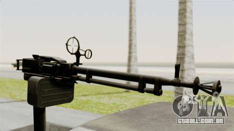 GTA 5 Karin Technical Machinegun para GTA San Andreas vista direita