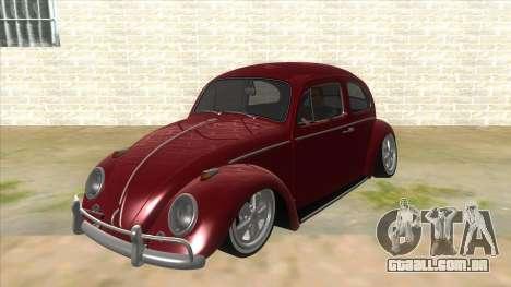 Volkswagen Beetle Aircooled V2 para GTA San Andreas