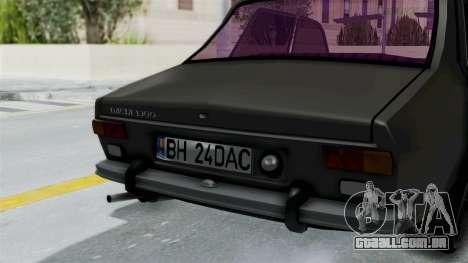 Dacia 1300 Edition[RC] para GTA San Andreas vista traseira