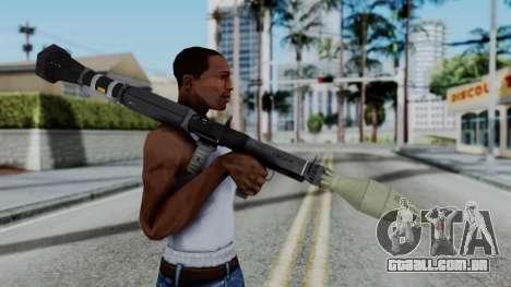 GTA 5 RPG - Misterix 4 Weapons para GTA San Andreas