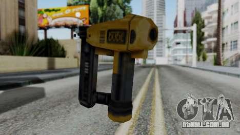 Vice City Beta Nailgun para GTA San Andreas segunda tela