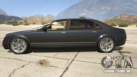 GTA 5 GTA 4 Enus Cognoscenti vista lateral esquerda