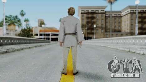 SWTFU - Luke Skywalker Tattoine Outfit para GTA San Andreas terceira tela