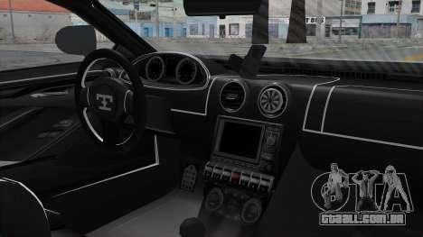 GTA 5 Truffade Adder v2 IVF para GTA San Andreas vista direita