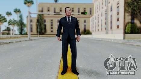 Marvel Future Fight Agent Coulson v1 para GTA San Andreas segunda tela