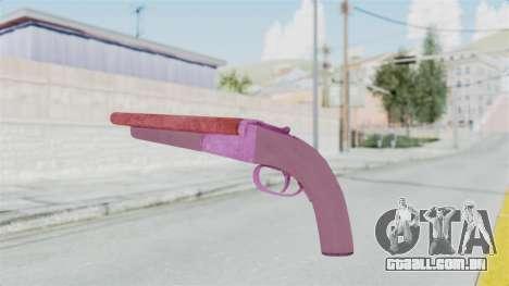 Double Barrel Shotgun Pink Tint (Lowriders CC) para GTA San Andreas terceira tela