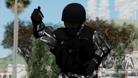 S.W.A.T v1 para GTA San Andreas